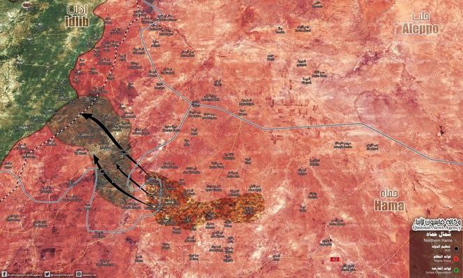 Quân Syria hứng thất bại, hàng trăm tay súng IS phá vây đào thoát về Idlib ảnh 2