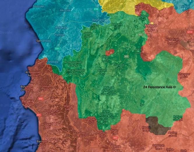 Quân đội Syria đánh đuổi phiến quân tại Hama, ngừng tấn công ở Idlib ảnh 1