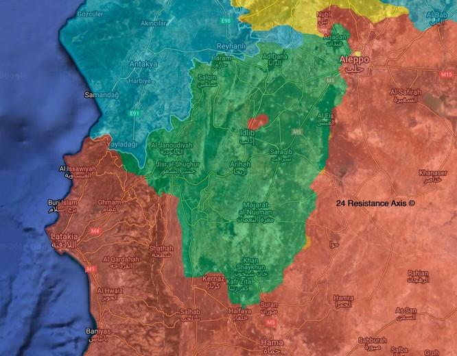 Quân đội Syria đánh đuổi phiến quân tại Hama, ngừng tấn công ở Idlib ảnh 2