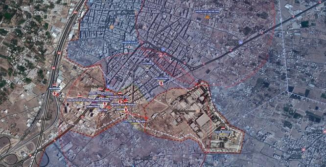 Quân Syria đánh thốc vào tử địa Đông Ghouta, diệt thủ lĩnh phiến quân ảnh 1