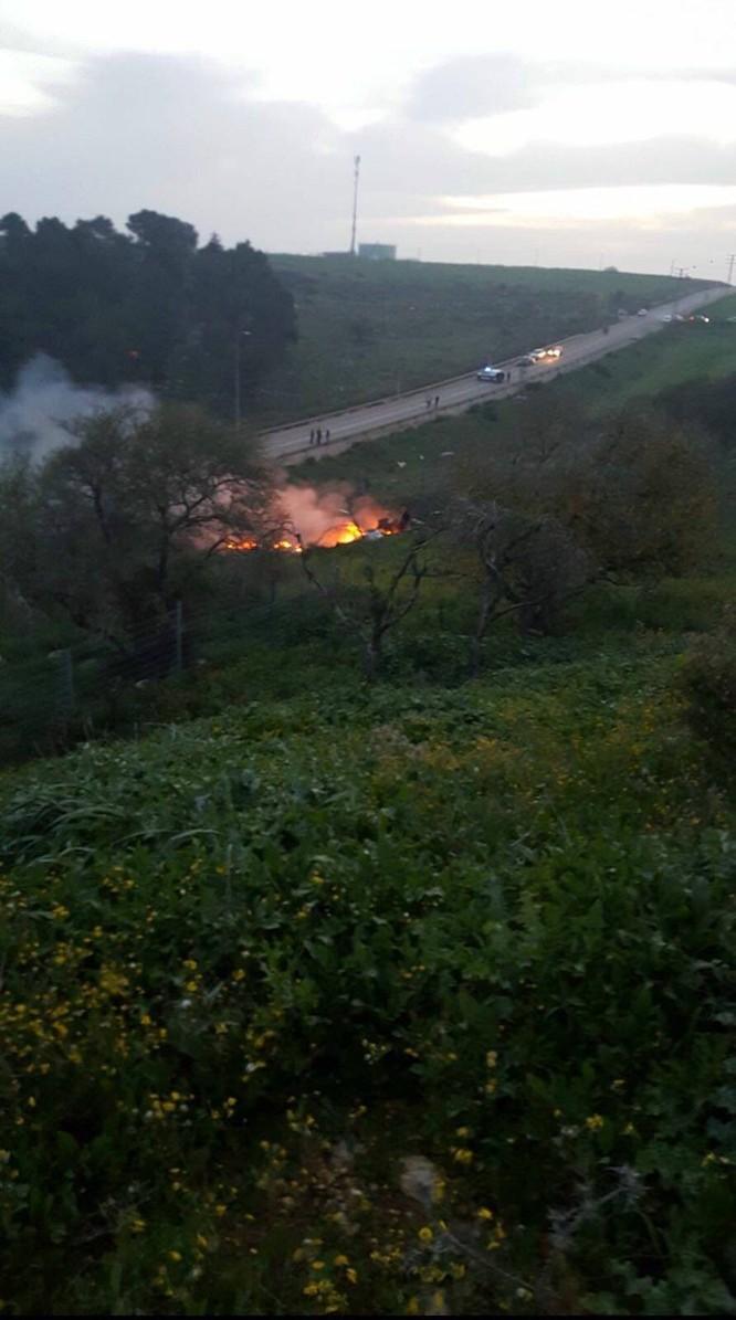 Syria phóng tên lửa bắn hạ chiến đấu cơ F-16 Israel ảnh 1