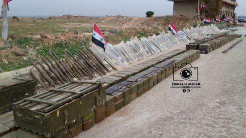 """""""Hổ Syria"""" giáng đòn trút giận, gần 100 tay súng IS mất mạng ảnh 1"""