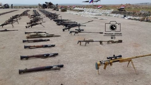 """""""Hổ Syria"""" giáng đòn trút giận, gần 100 tay súng IS mất mạng ảnh 3"""