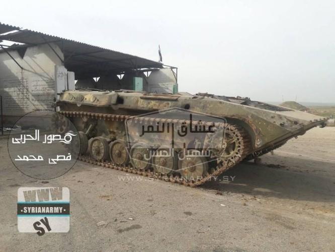 """""""Hổ Syria"""" tốc chiến chiếm kho vũ khí khủng của IS tại Hama ảnh 5"""