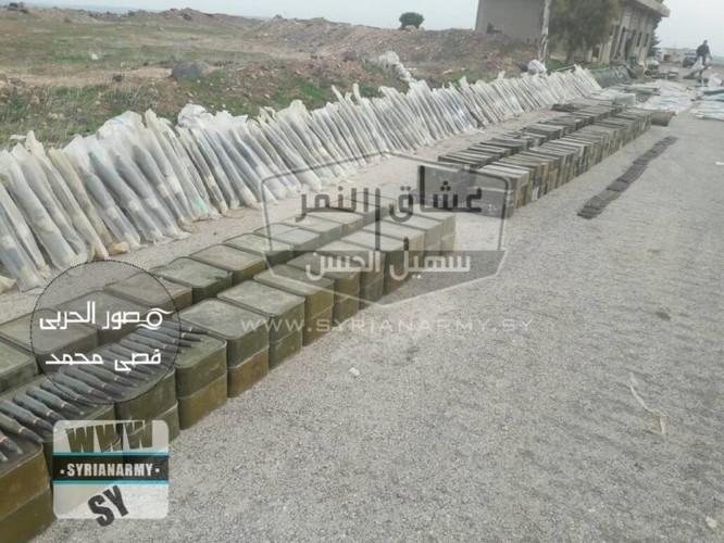 """""""Hổ Syria"""" tốc chiến chiếm kho vũ khí khủng của IS tại Hama ảnh 8"""