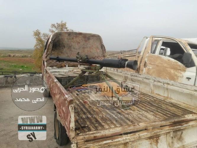 """""""Hổ Syria"""" tốc chiến chiếm kho vũ khí khủng của IS tại Hama ảnh 10"""