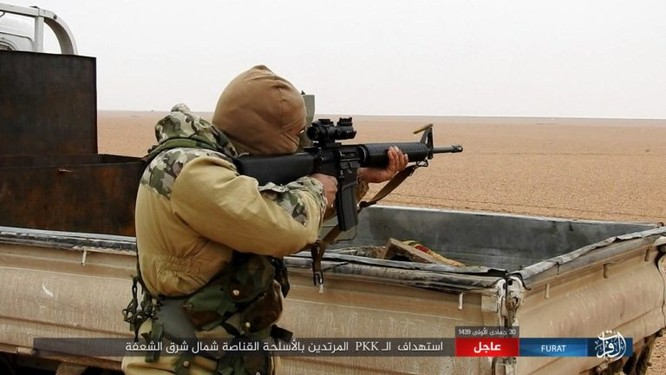Mỹ lại không kích nhầm đồng minh, IS đánh người Kurd Syria điên đảo ảnh 21
