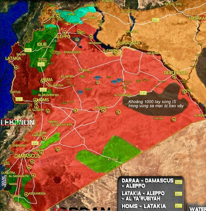 Tướng Syria thiệt mạng do IS phục kích tại chiến trường Deir Ezzor ảnh 2