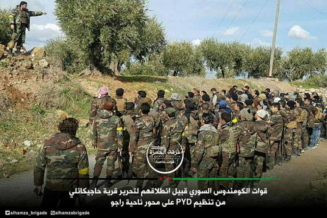 Thổ dồn quân đánh rát người Kurd phòng thủ Afrin, Aleppo ảnh 3