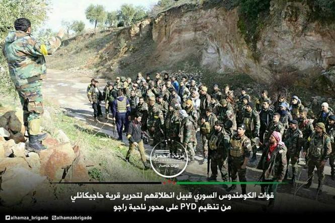 Thổ dồn quân đánh rát người Kurd phòng thủ Afrin, Aleppo ảnh 4