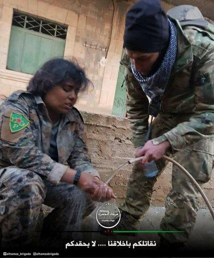 Thổ dồn quân đánh rát người Kurd phòng thủ Afrin, Aleppo ảnh 6