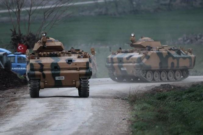 Thổ dồn quân đánh rát người Kurd phòng thủ Afrin, Aleppo ảnh 8