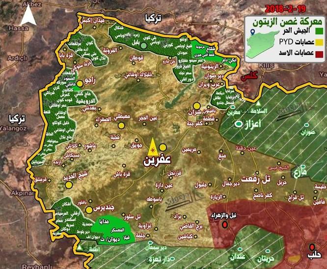 Người Kurd Syria hứng nhiều tổn thất, liên quân Thổ Nhĩ Kỳ đánh sâu vào Afrin ảnh 1