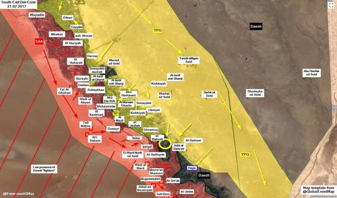 Diệt gần 1.200 tay súng IS, người Kurd chiếm chốt tại Deir Ezzor ảnh 1