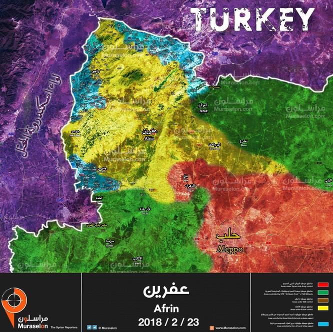 Liên quân Thổ Nhĩ Kỳ đánh chiếm 103 làng, gần 2.000 người Kurd thiệt mạng ảnh 1