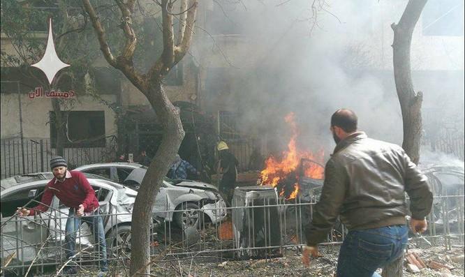 Phiến quân Syria tấn công khủng bố Damascus, Mỹ buộc tội Nga ảnh 3