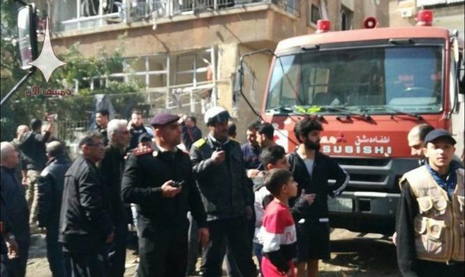 Phiến quân nã tên lửa đạn đạo khủng bố Damascus, Syria ảnh 3