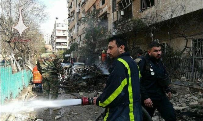Phiến quân nã tên lửa đạn đạo khủng bố Damascus, Syria ảnh 4