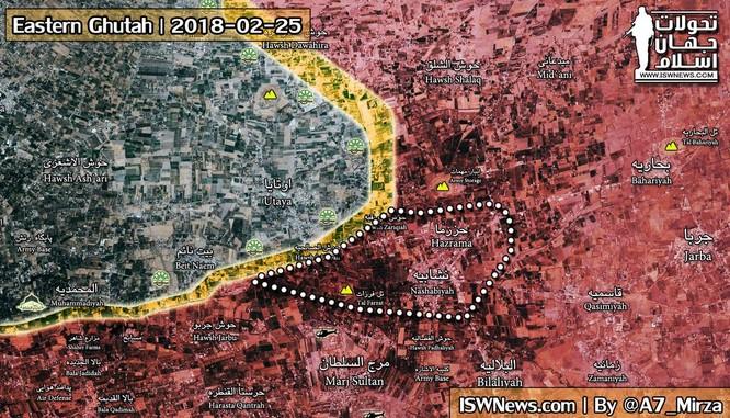 """""""Hổ Syria"""" chủ công khai hỏa chiến dịch kết liễu phiến quân cố thủ Đông Ghouta ảnh 1"""