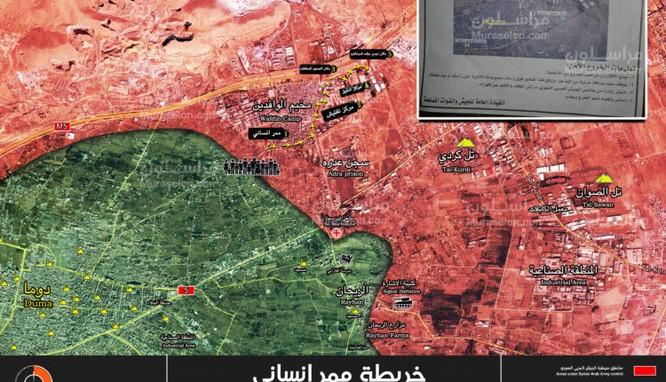 """""""Hổ Syria"""" chủ công khai hỏa chiến dịch kết liễu phiến quân cố thủ Đông Ghouta ảnh 2"""