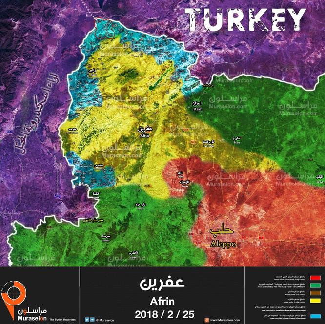 Người Kurd đánh du kích, quân Thổ chiếm thêm đất Syria ảnh 1