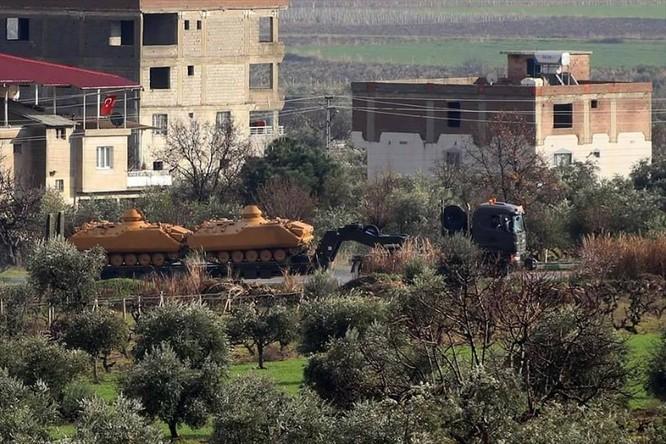 Thổ Nhĩ Kỳ khoe loại trận gần 3.000 chiến binh Kurd, tăng viện hòng chiếm trọn Afrin ảnh 3