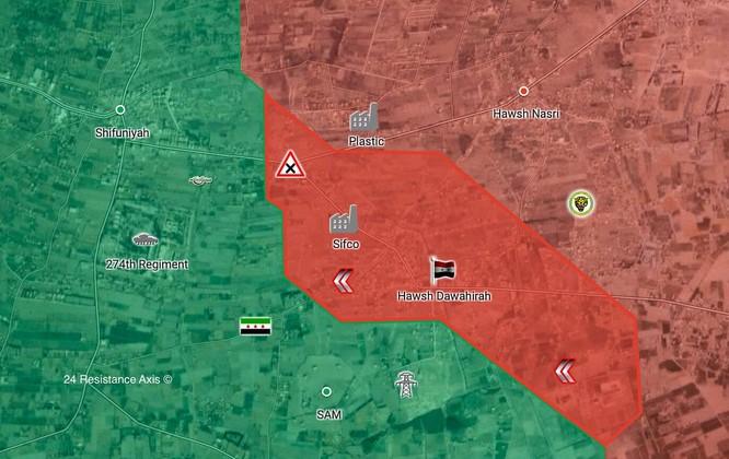 """Tung đòn hiểm, """"Hổ Syria"""" làm cỏ phiến quân tử thủ căn cứ phòng không Đông Ghouta ảnh 1"""
