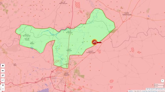 Quân đội Syria đập tan phiến quân tập kích ở Hama ảnh 1
