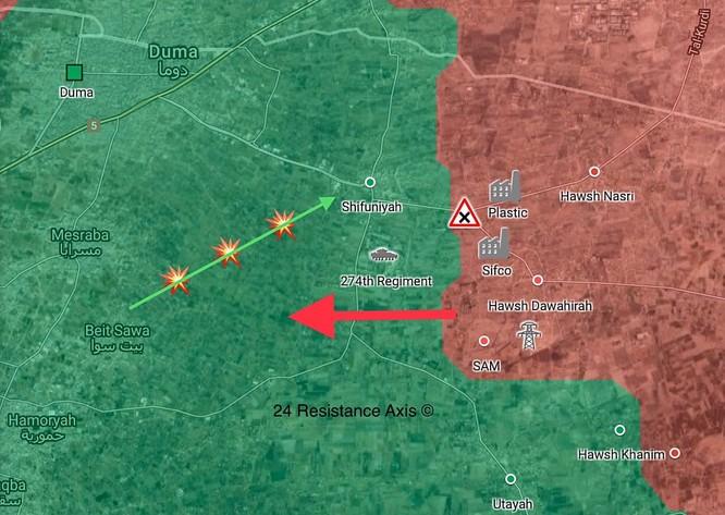 Quân tinh nhuệ Syria phong tỏa Đông Ghouta, sắp chiếm 2 thị trấn then chốt ảnh 1