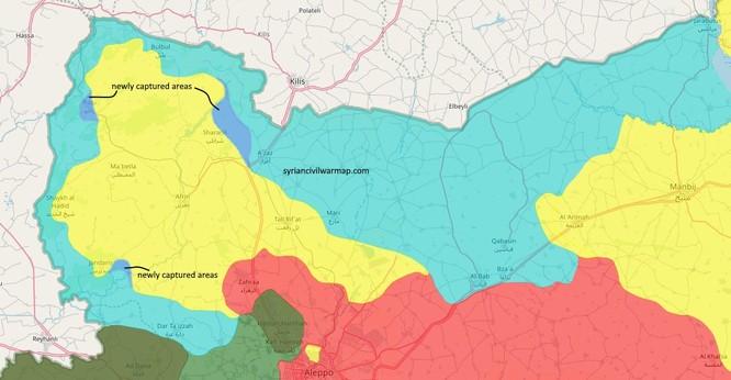 Quân Thổ Nhĩ Kỳ đánh bại người Kurd, chiếm thị trấn chiến lược ở Afrin ảnh 2