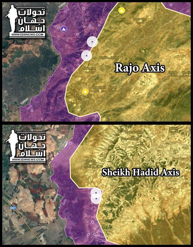 Quân Thổ Nhĩ Kỳ đánh bại người Kurd, chiếm thị trấn chiến lược ở Afrin ảnh 1
