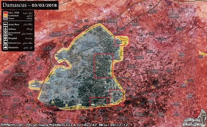 Vệ binh Syria rửa hận, chiếm cứ địa thánh chiến ở Đông Ghouta ảnh 1