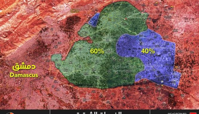 """""""Hổ Syria"""" giáng đòn chí mạng, sắp kết liễu phiến quân tử thủ Đông Ghouta ảnh 1"""