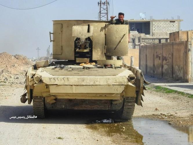 """""""Hổ Syria"""" sát cánh Vệ binh Cộng hòa phục hận phiến quân tại Đông Ghouta ảnh 1"""