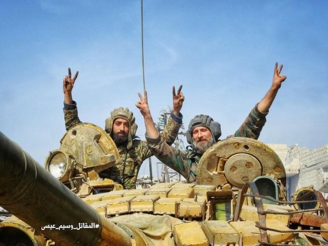 """""""Hổ Syria"""" sát cánh Vệ binh Cộng hòa phục hận phiến quân tại Đông Ghouta ảnh 4"""