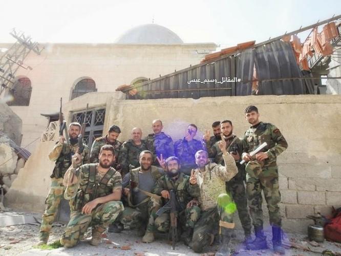 """""""Hổ Syria"""" sát cánh Vệ binh Cộng hòa phục hận phiến quân tại Đông Ghouta ảnh 5"""