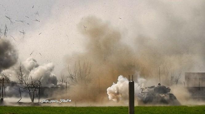 """""""Hổ Syria"""" sát cánh Vệ binh Cộng hòa triệt hạ phiến quân thánh chiến ở Đông Ghouta ảnh 1"""