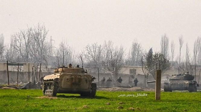 """""""Hổ Syria"""" sát cánh Vệ binh Cộng hòa triệt hạ phiến quân thánh chiến ở Đông Ghouta ảnh 4"""