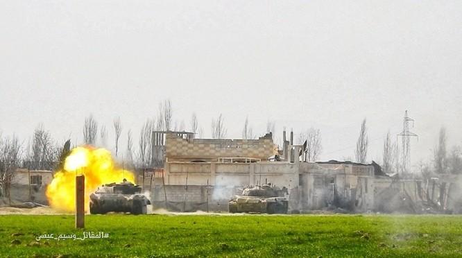 """""""Hổ Syria"""" sát cánh Vệ binh Cộng hòa triệt hạ phiến quân thánh chiến ở Đông Ghouta ảnh 5"""
