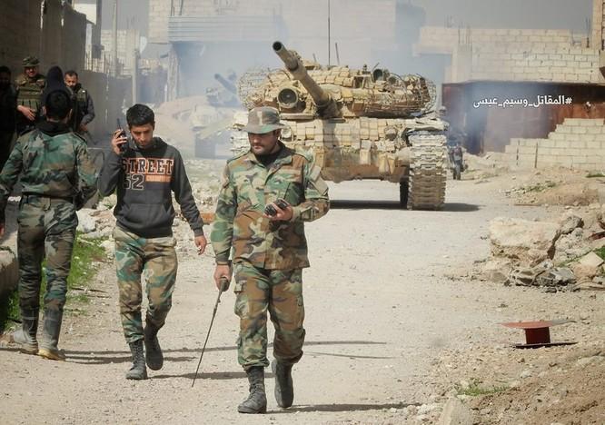 """""""Hổ Syria"""" sát cánh Vệ binh Cộng hòa triệt hạ phiến quân thánh chiến ở Đông Ghouta ảnh 6"""