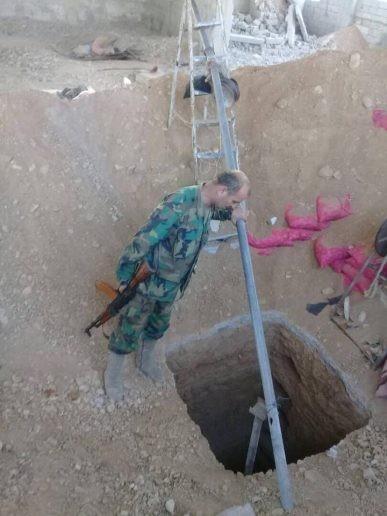 Đẫm máu cuộc chiến hầm ngầm, đô thị tại tử địa Đông Ghouta - Syria ảnh 2