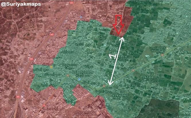 Đẫm máu cuộc chiến hầm ngầm, đô thị tại tử địa Đông Ghouta - Syria ảnh 1