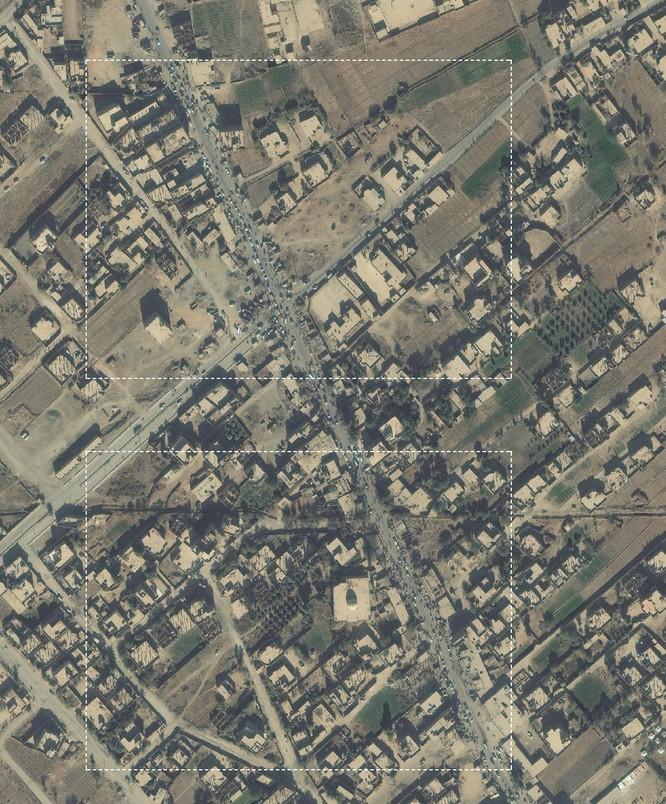 Lộ ảnh vệ tinh chứng minh quan hệ đen tối giữa IS và liên quân Mỹ-Kurd ảnh 1