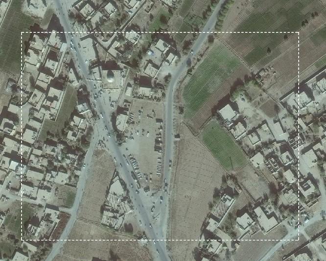 Lộ ảnh vệ tinh chứng minh quan hệ đen tối giữa IS và liên quân Mỹ-Kurd ảnh 2