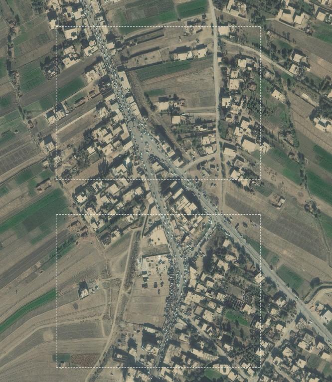 Lộ ảnh vệ tinh chứng minh quan hệ đen tối giữa IS và liên quân Mỹ-Kurd ảnh 3