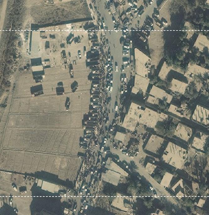 Lộ ảnh vệ tinh chứng minh quan hệ đen tối giữa IS và liên quân Mỹ-Kurd ảnh 4