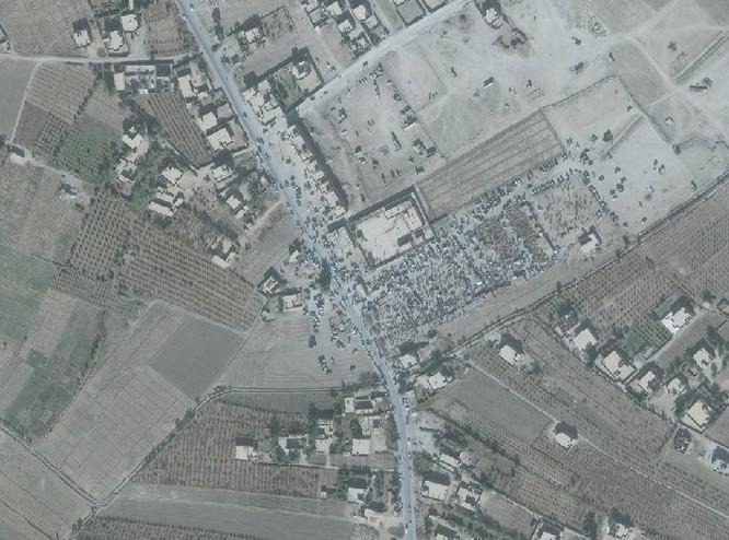 Lộ ảnh vệ tinh chứng minh quan hệ đen tối giữa IS và liên quân Mỹ-Kurd ảnh 7