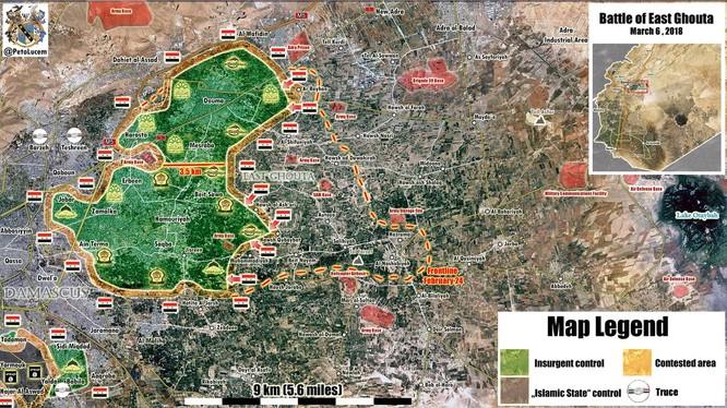 """""""Hổ Syria"""" nghiền nát phiến quân, đoạt 3 thị trấn ở Đông Ghouta ảnh 2"""