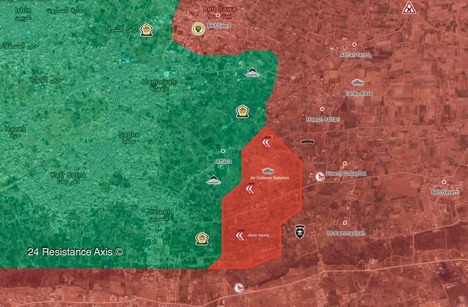 """""""Hổ Syria"""" bất ngờ tung đòn chiếm căn cứ ở Đông Ghouta, chiến tuyến Hồi giáo sụp đổ ảnh 3"""