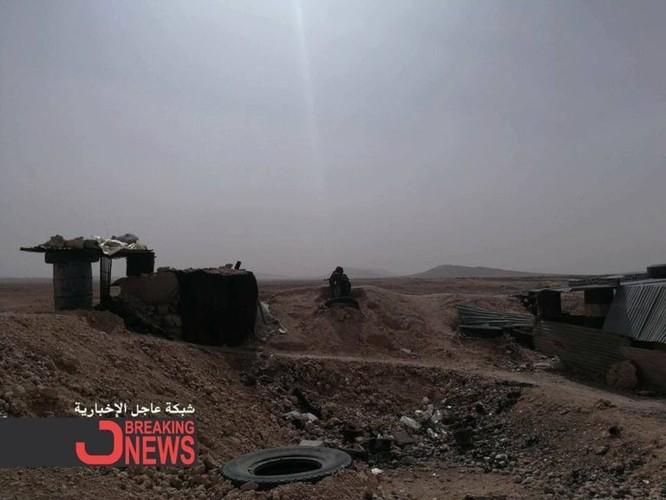 Quân Syria tấn công mở rộng kiểm soát sát căn cứ Mỹ trên sa mạc Damascus ảnh 1